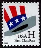 Alphabetilately G Is For Stamp All Non Denominated US Stamps