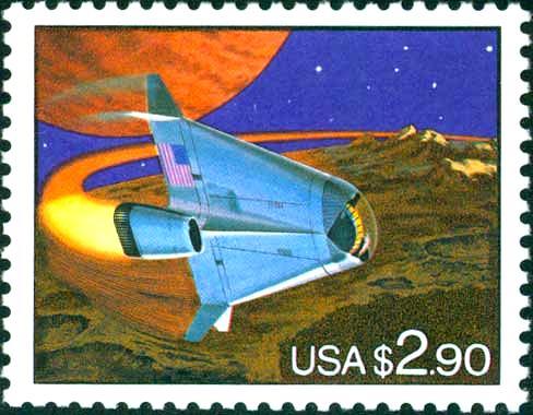 1962 PROJECT MERCURY SET OF 2 U.S JOHN GLENN 1998 SPACE SHUTTLE STAMPS